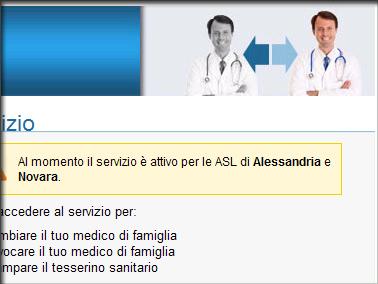 il medico di famiglia si sceglie on line asl al